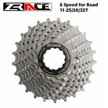Zrace bicicleta cassete 8 velocidade estrada bicicleta roda livre 11-25t/11-28t/11-32t