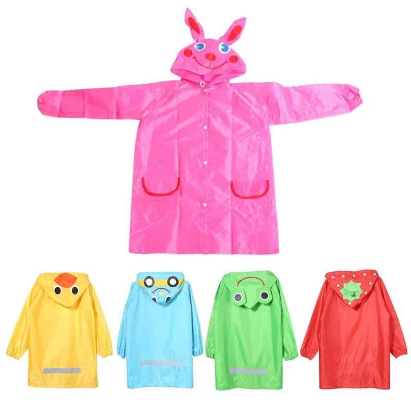 Brand New Children Raincoat Cartoon Animal Rain Jacket Kids Waterproof Rain Suit Toddler Boys Girls Rainwear Children's Jacket