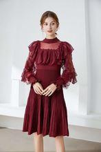 Женское платье принцессы весна осень 2021 повседневные платья