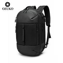 OZUKO Bag Multi-function backpack Men Backpack 15.6 inch Laptop Bag Male Waterproof Large Capacity Backpacks Travel Bags Mochila