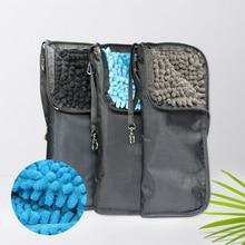 Переносная сумка для зонта, супер впитывающая способность, Чехол для автомобильного зонта, ветронепроницаемый, водопоглощающий, на молнии, для хранения зонта