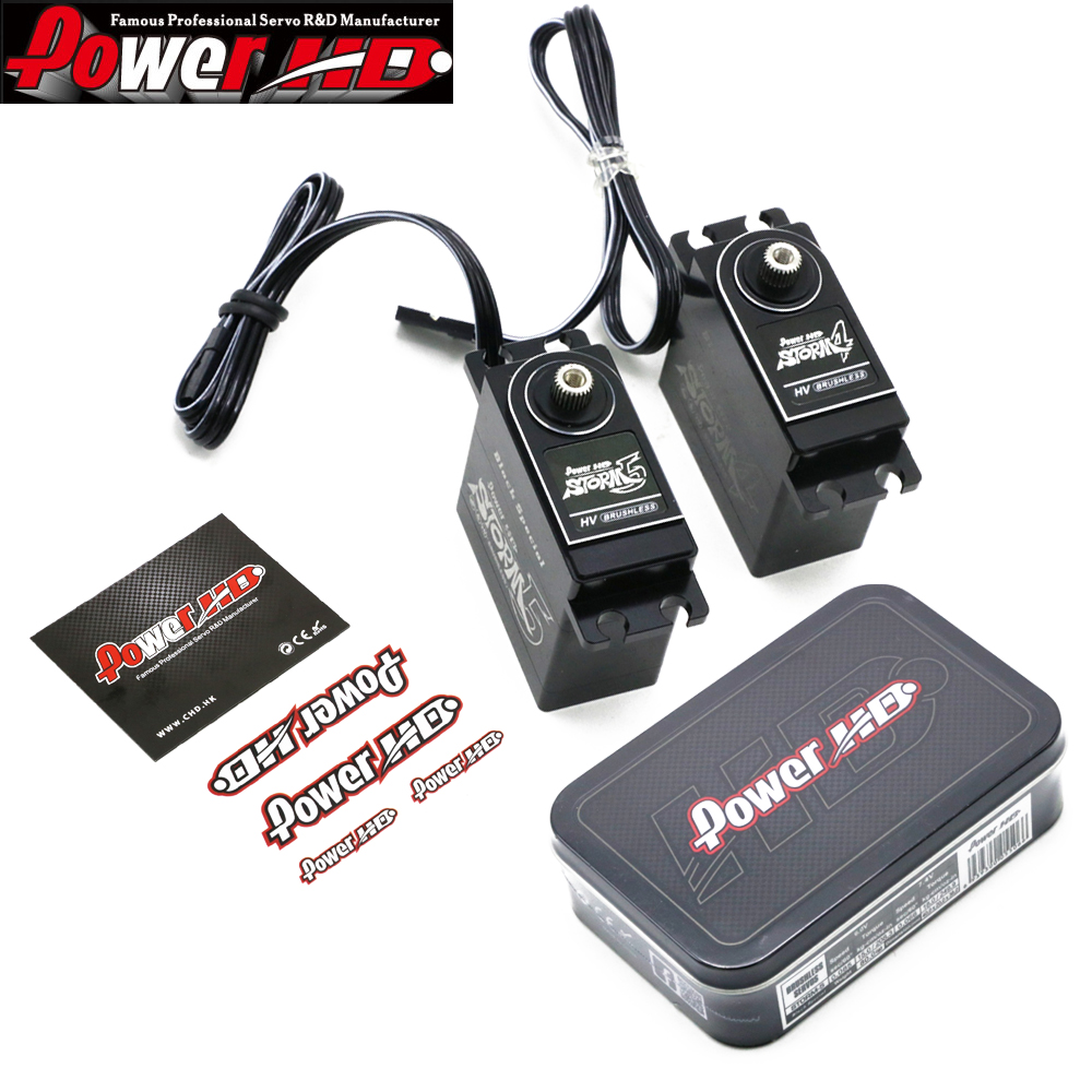 RC Servo,1set Power HD (STORM-4+STORM-5) Digital Servo/ The More Oil 1/8 Brushless Set