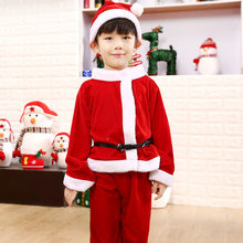 Boutique one generation children's Christmas service girls Christmas costumes adult Santa clothes suit(China)