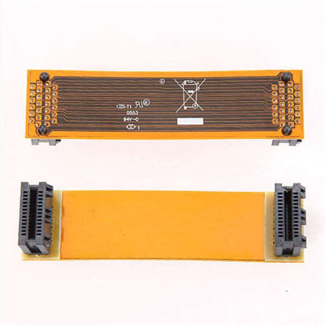 """Novo sli ponte pci-e placa de vídeo cabo conector adaptador 3 """"para asus nvidia útil"""