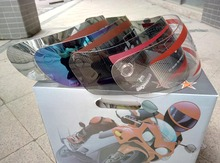 No 313 321 for Malushun full face helmet lens Newest Arrival motorcycle helmet visor Imported PC materials high quality cheap 0 15 Unisex Helmets