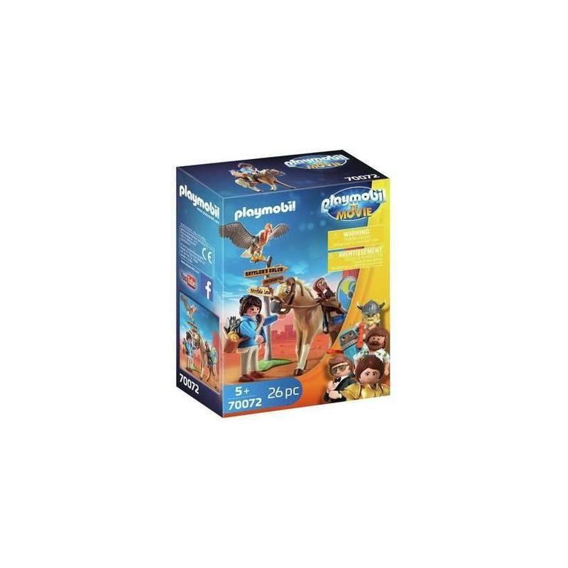 Playmobil: The Movie Marla With Horse Toy Store