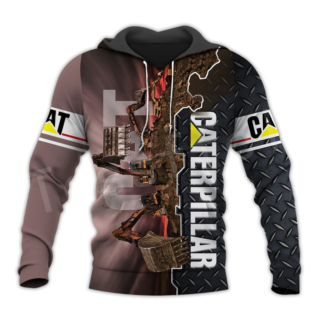 Tessffel Excavator Worker NewFashion Tracksuit Funny Unisex Casual Pullover 3DPrint Zip/Hoodies/Sweatshirts/Jacket/Men/Women A10