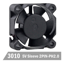 DC AXIAL FAN !!! Black Mini Cooling Fan 12V 2Pin 60MM 6CM 6010 60x60x10mm 10pcs/set