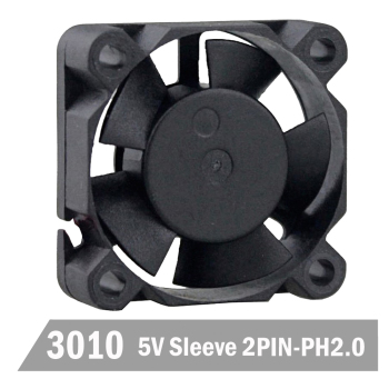 цена на 10PCS Gdstime 3010 3cm 30mm 30x30x10mm 2Pin 5V DC Micro Heatsink Cooling Fan