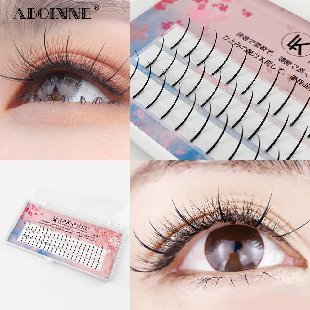 Шипы Abonnie, новейшие накладные 3D ресницы для наращивания, новейший стиль, макияж, увеличение объема в России, шипы для ресниц