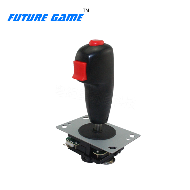 High Quality Flying Joystick Operated Shooting Flying Spare Parts With Micro Switch For Arcade Game Simulator Fighting Machine image
