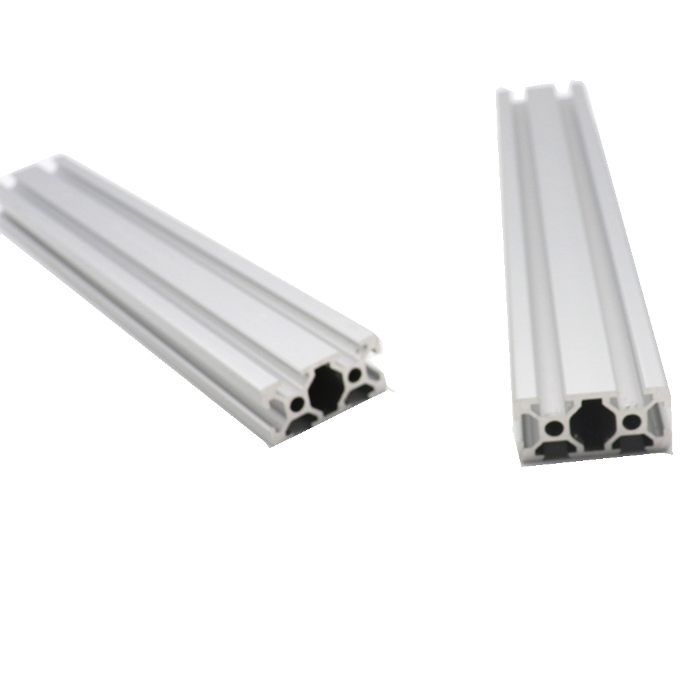 CNC Machine Parts <font><b>2040</b></font> T-Slot Aluminum Profiles <font><b>Extrusion</b></font> Linear Guide For Workbench 250mm/300mm/350mm/400mm/450mm/500/550/600 image