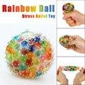 Bunte Squeeze Regenbogen Ball Spielzeug Anti Stress Vent Ball Stress Relief Spielzeug Für Kinder Kinder Erwachsene Lustige Dekompression Spielzeug