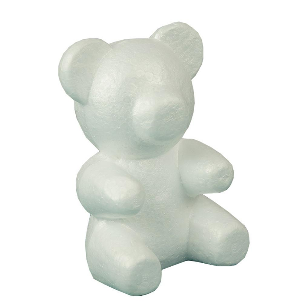 1pcs Foam Teddy Bear Molding DIY Toy For Valentine's Day Party Wedding Decoration Rose Bear Mold Foam Kids Birthday Decor Gifts