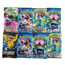 TOMY – Carte Pokemon, jeu de société, évolution GX EX VMAX, à collectionner, Carte de combat, brillant, 324