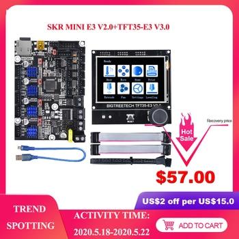 BIGTREETECH SKR mini E3 V2.0 Control Board With TMC2209 UART+TFT35 E3 V3.0 Touch Screen For Ender 3 Pro Ender 5 3D Printer Parts