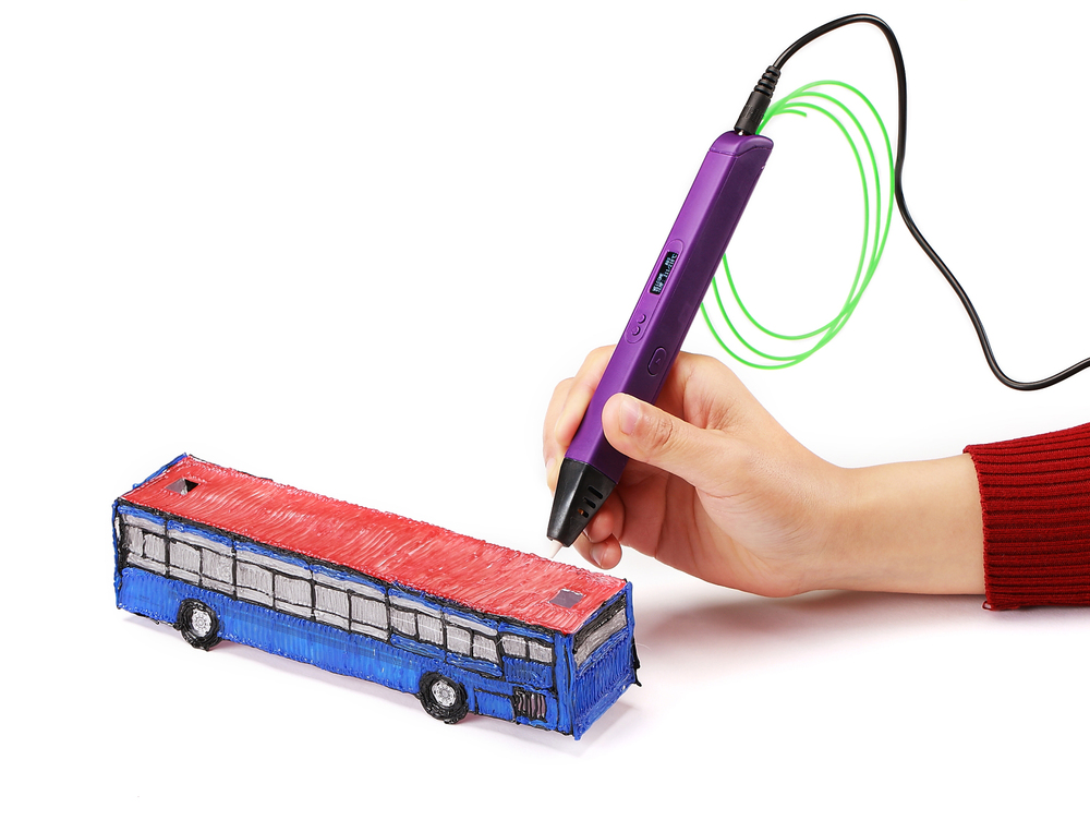 RP800A 3D Printing Pen Made Of ABS/PLA Material For Kids Drawing Pen