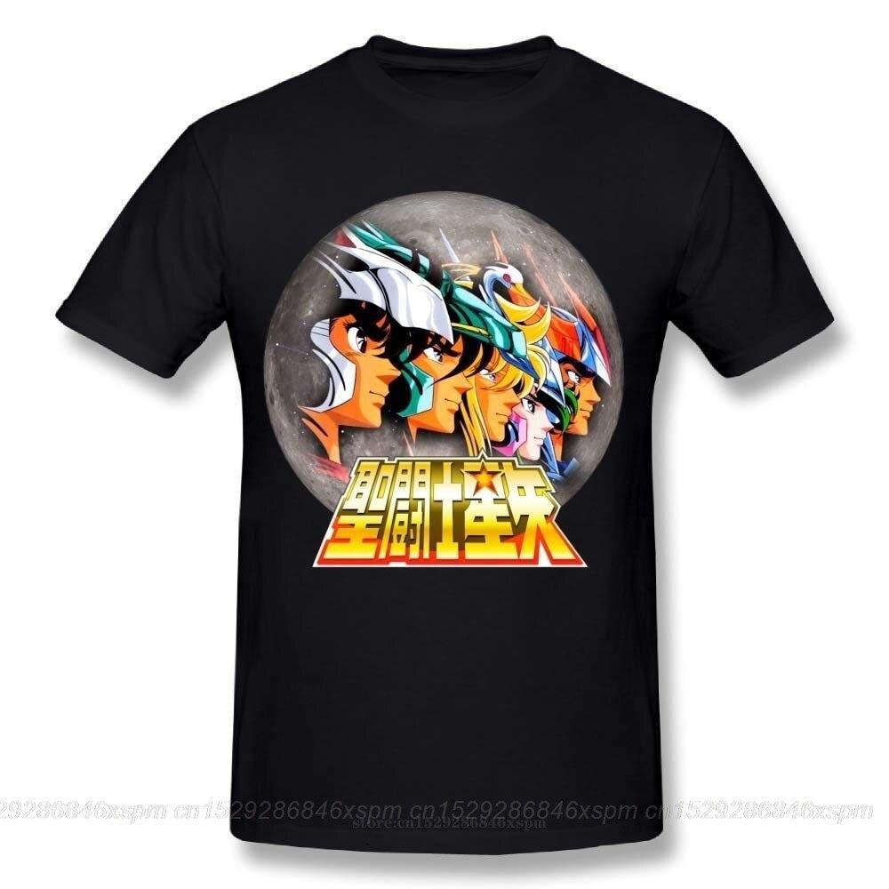 one yona Novelty Boy Saint Seiya Knights of the Zodiac T Shirt Classic Japanese Anime Cartoon Unique Design T ShirtT-Shirts   -