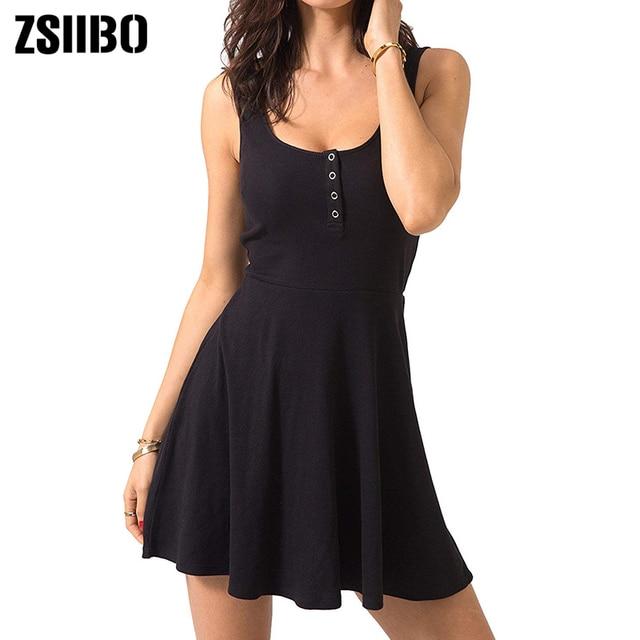 Summer Clothes Bodycon Mini Tank Dress 2