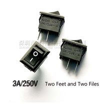 1PC Mini Saklar Rocker 10X15 Mm 2Pin Perahu Rocker Switch 3A 250V KCD11-101 Snap-In ON/Off Tombol Push Switch 10 Mm * 15 Mm(China)