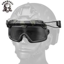 цена на Tactical Helmet Anti-fog Eyewears Transparent Goggles Hiking Airsoft Hunting Paintball Shooting Fishing Cycling Glasses Eyewear