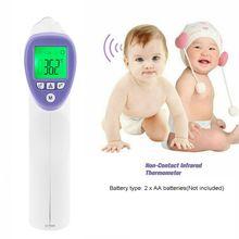 Бесконтактный инфракрасный лба термометр цифровой ЖК-дисплей ИК-для ребенка Дети и студенты взрослые