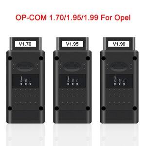Image 5 - フラッシュファームウェア更新obd OBD2スキャナーopcom V5 op com 1.70 OP COM 1.95 1.99オペルPIC18F458 ftdi canバス