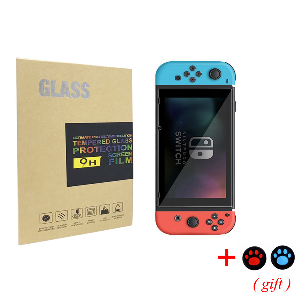 9H Tempered Film Glass Screen Protector Eye Protection For Nintend Switch Screen Protector Nintend Switch NS Accessories
