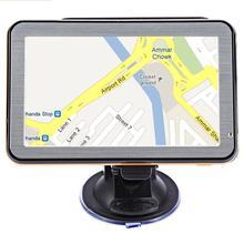 5 дюймов gps навигация Wince голосовое руководство автомобильный навигатор DDR256M+ 8 Гб Автомобильная android навигация с бесплатной картой gps para carro