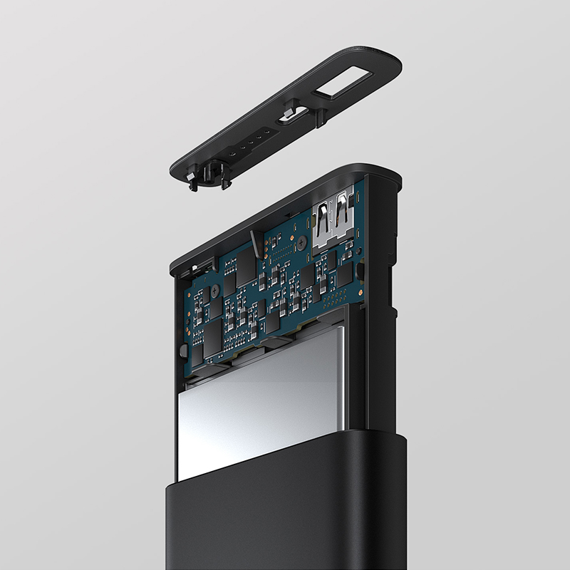 Original Wireless Xiaomi Power Bank 10000mAh Powerbank Portable Qi Wireless Charger USB C Port Batterie Externe Mi Power Bank 3 in Power Bank from Cellphones Telecommunications