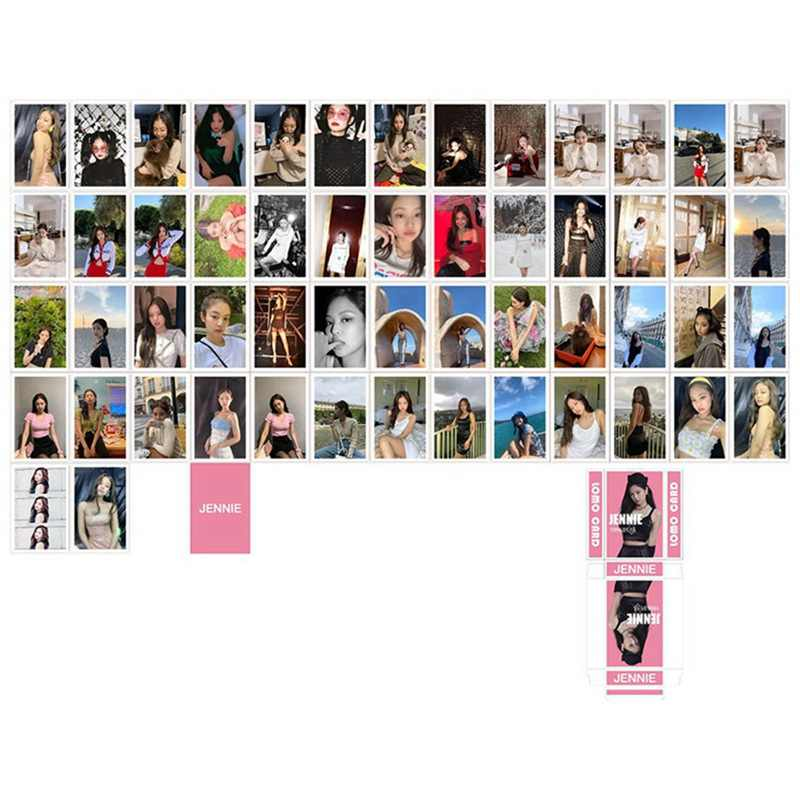 54 cái/bộ K-POP BLACKPINK Album Giấy Lomo Card Poster Thẻ Hình Ảnh Bưu Thiếp Hình Văn Phòng Phẩm Trang Trí Tiếp Liệu Quạt Quà Tặng