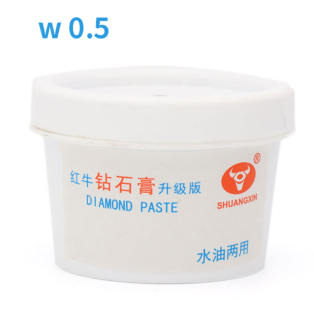 60g Metal Diamond Grinding Buffing DIY Jade Abrasive Sharpening Burnisher Polishing Paste Mirror Water Oil Dual Used Portable
