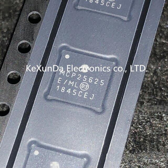 MCP25625T E/ml MCP25625 E/ml QFN 28 ic 100% original 10 pçs 50 pçs/lote novo frete grátis