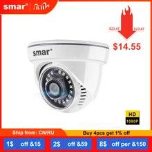 Smar Full HD H.265 2MP IP Camera HI3516 20fps Home Network Surveillance Camera 1080P Onvif Security Camera with Nano IR LED