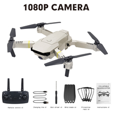 High Quality E58 WIFI FPV With Wide Angle HD Camera High Hold Mode Foldable Arm RC Quadcopter