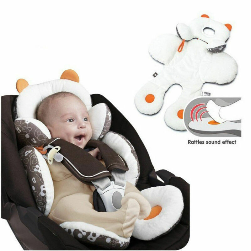 Adjustable Soft Cotton Seat Newborn Baby Stroller Cushion Pad Support Car Liner Mat Comfortable Head Body Pillow