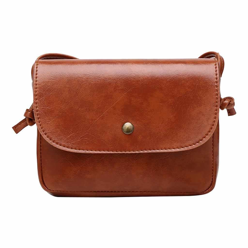 Vintage Backpack Mini Backpack Women Purse Women Leather Messenger Bag Retro Casual Shoulder Bag Crossbody Bags Zaino Donna