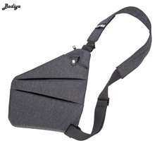 Men Chest Bag Casual Oxfordcloth Multifunction Personlity Outdoor Travel Crossbody Bag Male Anti-theft Underarm Shoulder Bag(China)