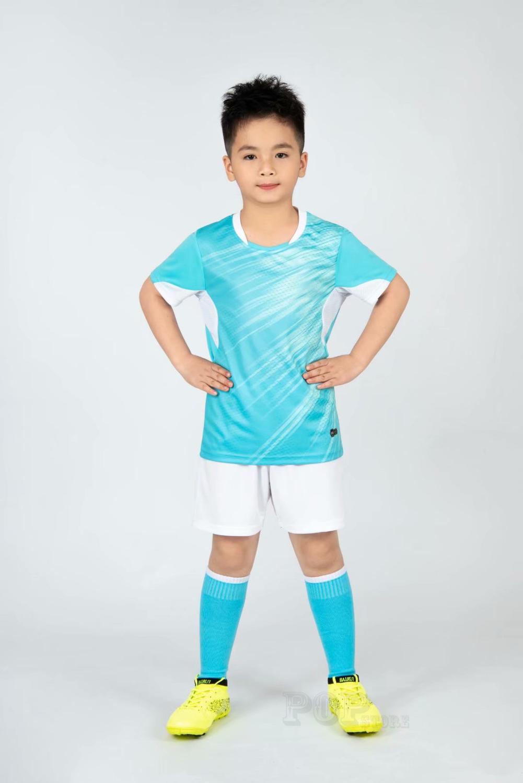 Kids football Uniforms boys girl soccer Jerseys Custom child Soccer Jersey Set Sportswear t-shirt sports suit new style 8