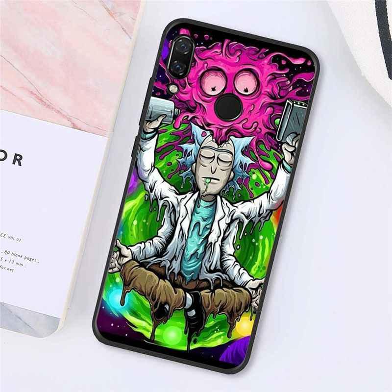 Maiyaca קריקטורה חמוץ ריק ריק ו Morty טלפון מקרה עבור Xiaomi Redmi4X 6A S2 ללכת Redmi 5 5 בתוספת Note4 note5 7 Note6Pro