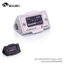 Bykski Water Cooling Thermometer HD LCD with Real time Temperature Detection For PC B TME SC AL V2