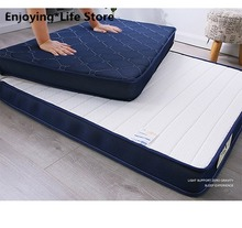 Natural Thai Latex Mattress Single Double Size 9cm and 5cm Memory Foam Filling Stereoscopic Student Dormitory Tatami Beds