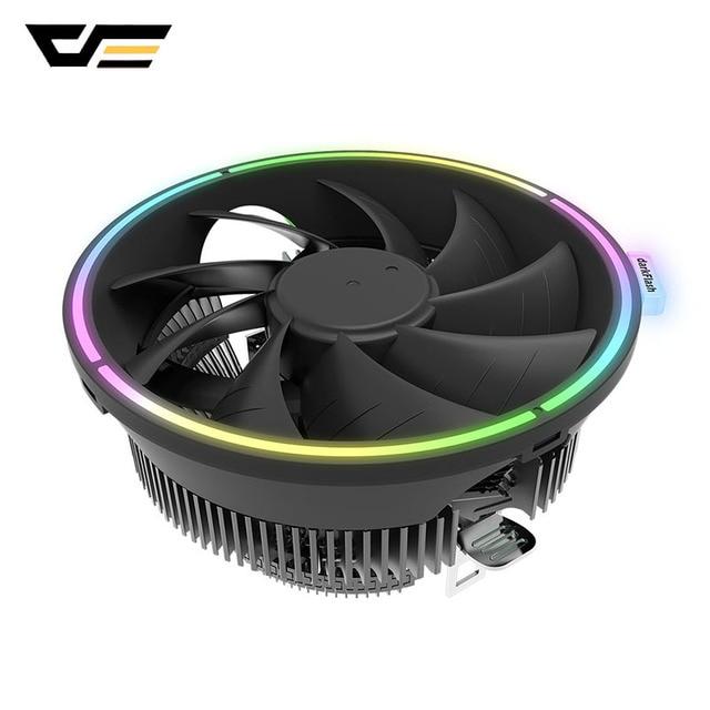 darkFlash CPU Air Cooler 3Pin Radiator RGB 120mm Cooler CPU Cooling Computer Case for LGA 1366/1156/1155/1150 AM4/AM3