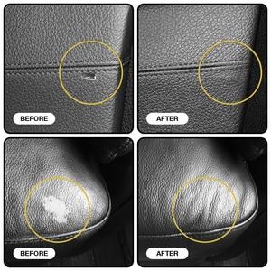 Image 4 - Visbella 2pcs Liquid Leather Repair Kit Restorer Auto Car Seat Sofa Holes Scratch Cracks Rips Skin Leather Cleaner Hand Tool