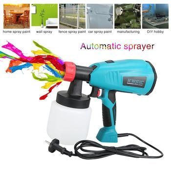 Removable High Pressure Electric Sprayer Latex Paint Spraying Machine 800w Airless Paint Spray