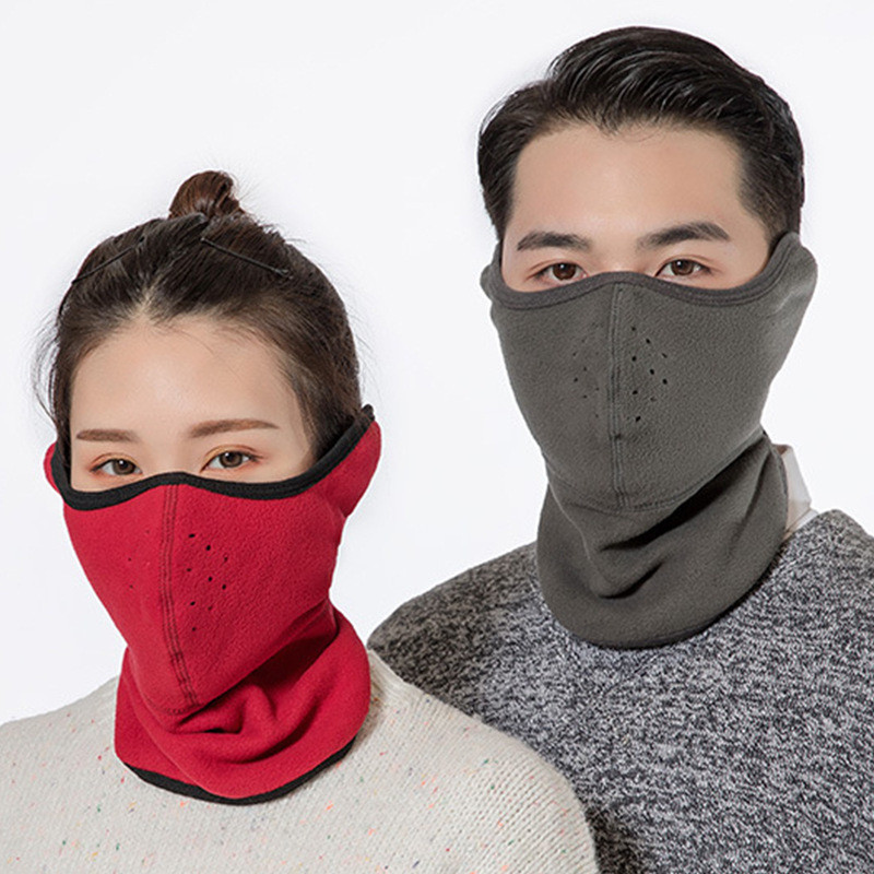 Warm Half Face Mask Men Women Winter Sport Accessories Windproof Adult Unisex Bike Bicycle Cycling Outdoor Neck Guard Scarf Mask