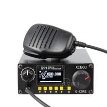 Ultima G-CORE XIEGU G1M SDR SSB/CW/AM 0.5-30MHz Radio Moblie HF ricetrasmettitore Ham Radio QRP
