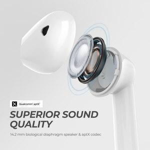 Image 2 - SoundPEATS TrueAir QCC3020 Bluetooth 5.0 TWS 이어폰 HiFi 스테레오 APTX 무선 이어 버드 CVC 잡음 제거 30 시간 재생 시간