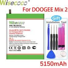 WISECOCO – batterie BAT17654060, 5150mAh, pour téléphone Doogee Mix 2, en Stock, haute qualité, avec numéro de suivi