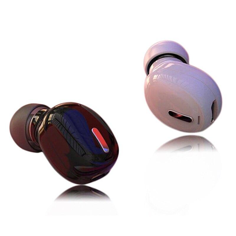 Galleria fotografica Mini Senza Fili di Bluetooth 5.0 Earphonefor Tutti I Telefoni in Ear di Sport con Il Mic Auricolare Auricolari Per Xiaomi Samsung <font><b>Huawei</b></font>